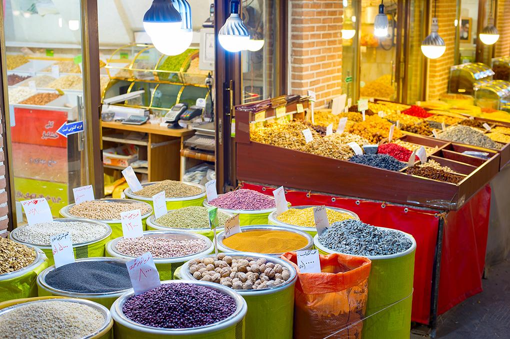cultivos de Irán